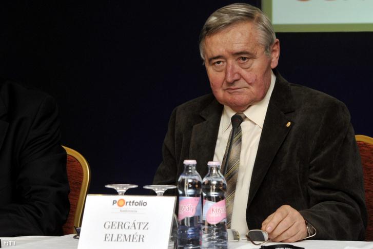 Gergátz Elemér 2014-ben.