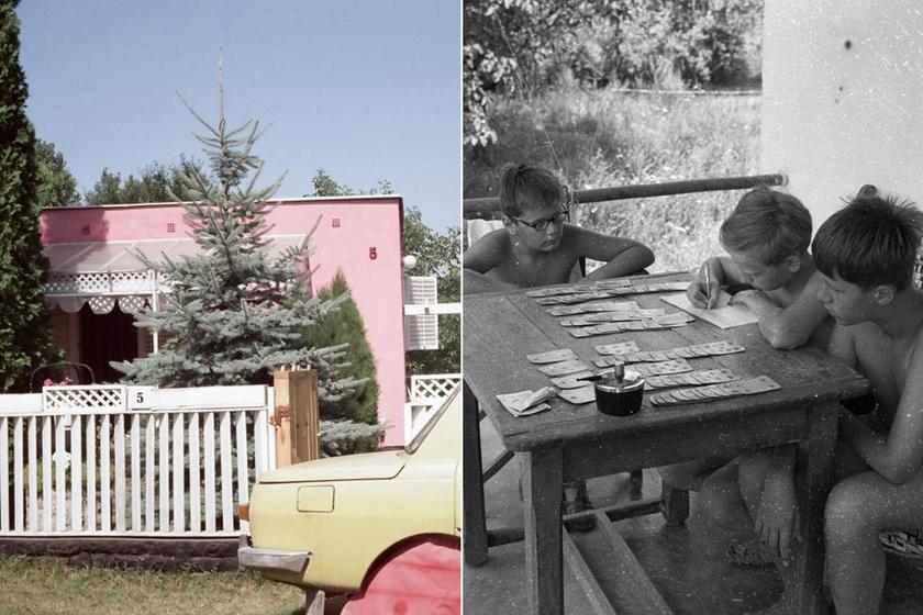 Pöttöm volt, és szűkös, de a miénk: képeken a 70-es, 80-as évek Balaton-parti nyaralói