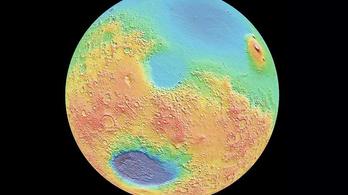 Aszteroida-szőnyegbombázás gyalulta le a Mars felszínét