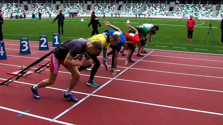 Dynamic New Athletics Track'athlon nyitószáma a szánhúzás