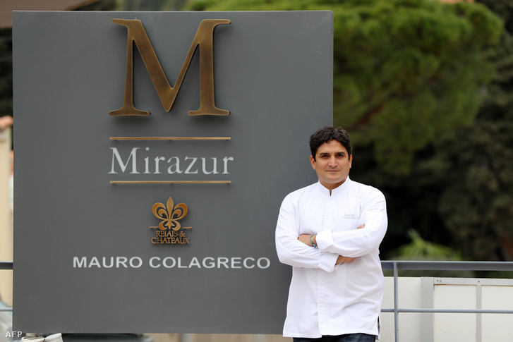 Mauro Colagreco, a Mirazur étterem séfe