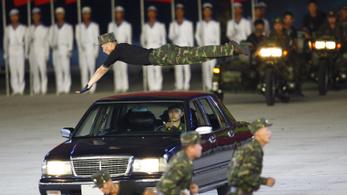 Nagyszabású propagandashow-t rendeztek Észak-Koreában