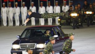 Nagyszabású propaganda-showt rendeztek Észak-Koreában