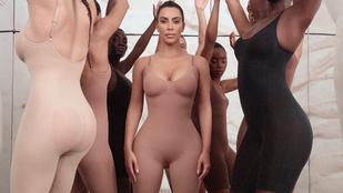 Kim Kardashian megosztott egy képet a 18 éves önmagáról, olyan mintha nem is ő lenne a fotón