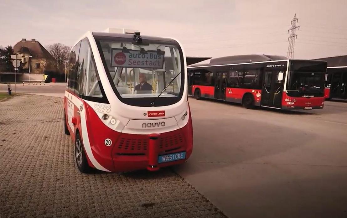 Önjáró autobuszt teszteltek Bécsben