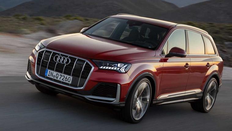 Átalakul az Audi Q7-es