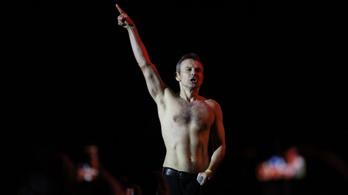 A humorista elnök után egy rocksztár az ukrán politika új csillaga