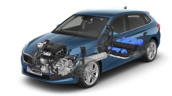 Gázhajtással is jön a Škoda Scala