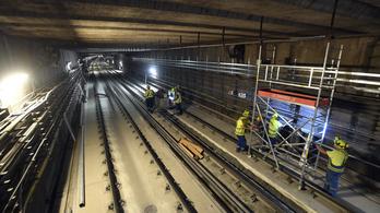 Azbeszttartalmú szigetelést találtak a 3-as metró felújítása során