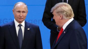 Trump és Putyin egy órára összefut Oszakában