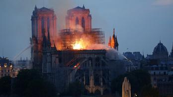 Égő cigaretta, vagy elektromos hiba miatt gyulladhatott ki a Notre-Dame