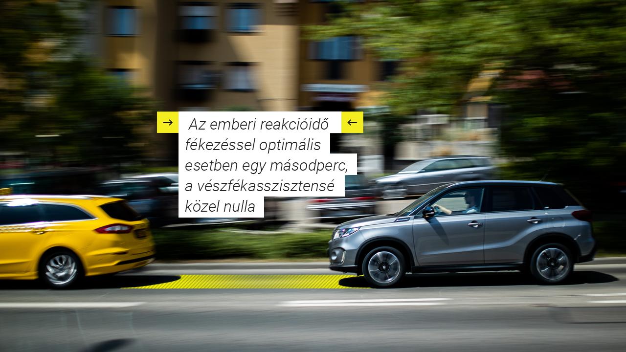 Automata vészfékasszisztens                         A leggyorsabban reagál, ha valami váratlan kerül az utunkba, így segít elkerülni a koccanásokat és baleseteket. A kamerával és lézerérzékelővel együttesen határozza meg, hogy fennáll-e az ütközés veszélye. Ütközésveszély esetén helyzettől függően reagál: ha csekély a veszély, hang és fényjelzéssel figyelmeztet, ha nagyobb, működésbe hozza a fékasszisztenst a fékerő növeléséhez. Ha igazán nagy a baj, automatikusan működésbe lép a fékrendszer.