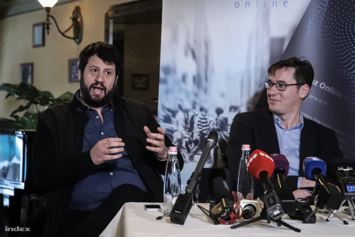 Puzsér Róbert és Karácsony Gergely 2019. március 13-án.