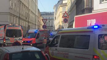 Gigantikus gázrobbanás Bécsben