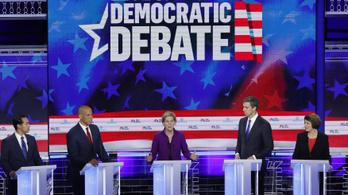 Az első tévévitával élesre fordult a Trump ellen készülő demokraták versengése