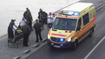 Egy parlamenti őr mentett ki egy részeg férfit a Dunából