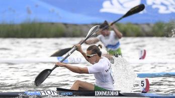 2013 óta először verték meg Kozák Danutát világversenyen 500 m egyesben