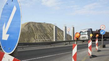 Egy hónapig folyamatosan felújítási munkák várhatóak az M1-esen
