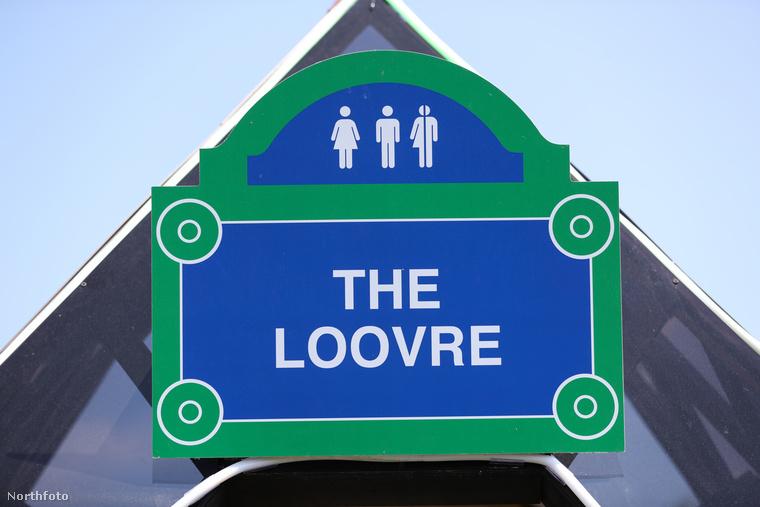 A Louvre-budi abban is különleges, hogy nem csak nőket és férfiakat invitál a trónhelyre, de olyanokat is, akik feltehetőleg a kettő között vannak