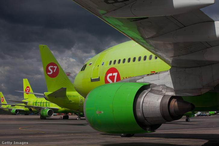 S7 Airlines gépei Moszkvában