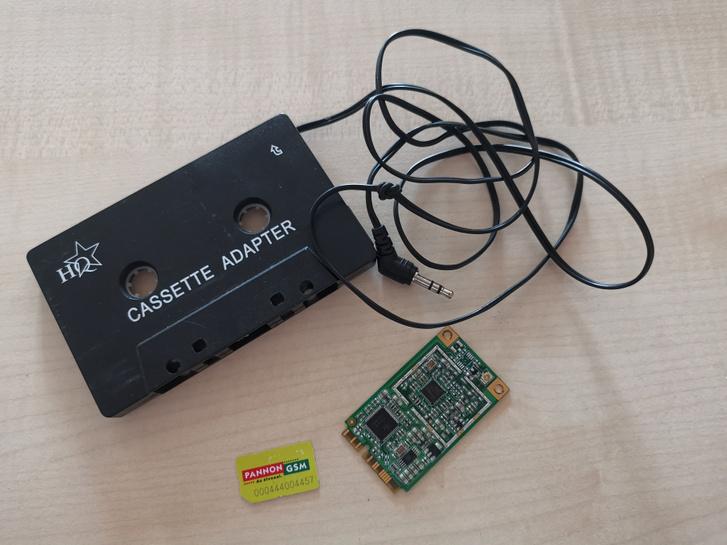Okosautós-készlet, tévétuner és Pannon GSM SIM-kártya