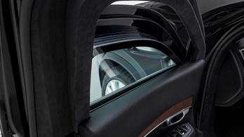 Ez az új, páncélozott Volvo terepjáró