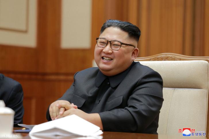 Kim Dzsongun észak-koreai vezető