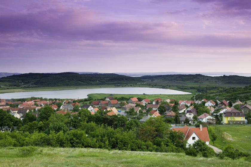 A tihanyi Belső-tó.