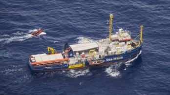Engedély nélkül is elindult az olasz partok felé a Sea Watch hajója