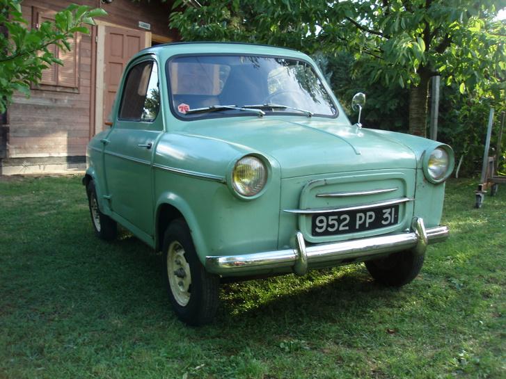 Vespa 400 - 1958