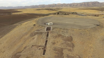 3400 éves palotát fedett fel az aszály Irak északi részén