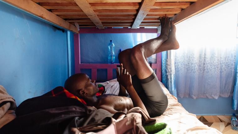 A bajnokok otthona Afrika szívében