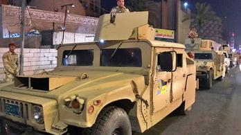 Kétszáz tüntető hatolt be Irakban a bahreini követségre