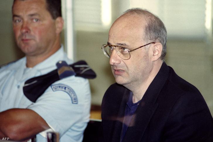 Jean-Claude Romand a bíróságon Bourg-en-Bresse-ben 1996. június 25-én