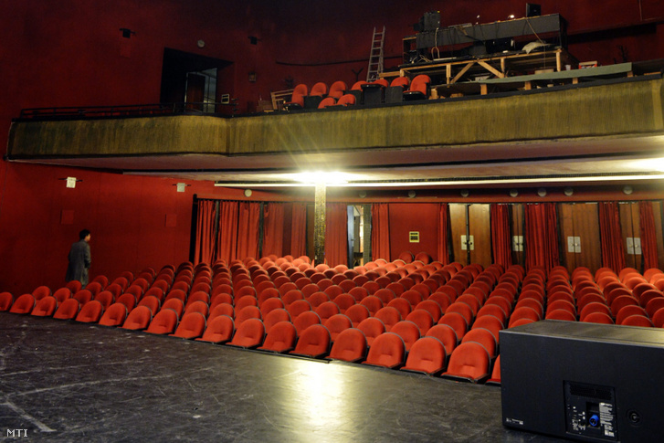 Átrium Film-Színház nézőtere 2012. november 26-án