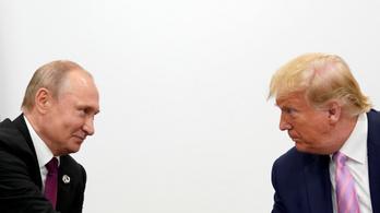 Donald Trump viccesen figyelmeztette Vlagyimir Putyint