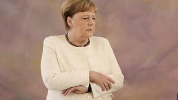 Mi van, ha a német kancellár egész testében remegni kezd?