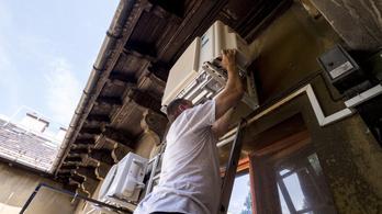 Történelmi rekordot döntött a nyári áramfogyasztás csütörtökön