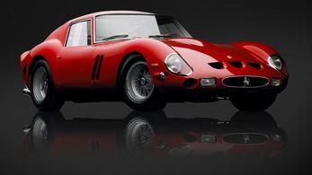 Műalkotásnak minősítették a legdrágább Ferrarit