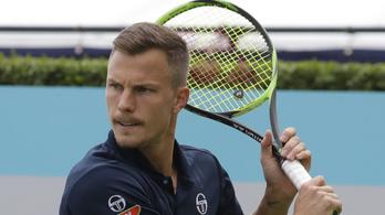 Fucsovics jó sorsolást kapott Wimbledonra