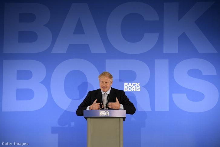 Boris Johnson 2019. június 12-én.