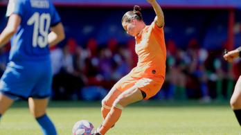 Két tökéletes szabadrúgással vb-elődöntősök a holland nők