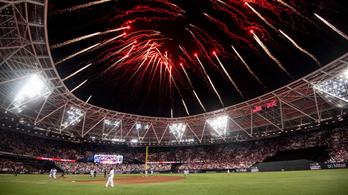 Óriásit szólt a londoni baseball-szuperrangadó