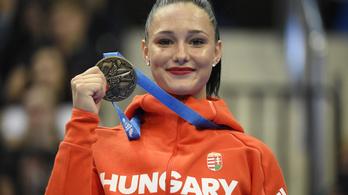 16 éves magyar tornász nyert bronzérmet az Európa-játékokon
