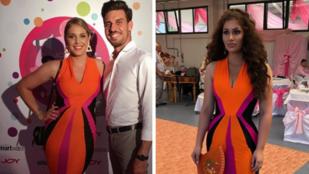 Ugyanazt a ruhát viselték, de vajon Nyári Diának vagy Radics Giginek áll jobban?