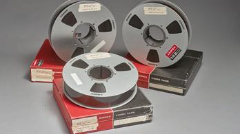 Elárverezik az 50 évvel ezelőtti holdsétáról megmaradt egyetlen videótekercset