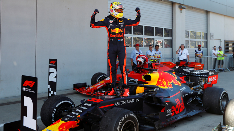 Osztrák GP: három óra után lett hivatalos Verstappen győzelme