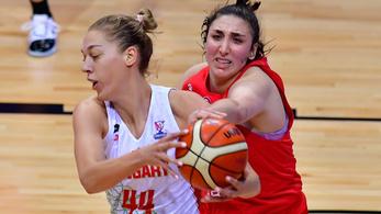 Utolsó másodperces büntetőn ment el női kosarasok Eb-meccse