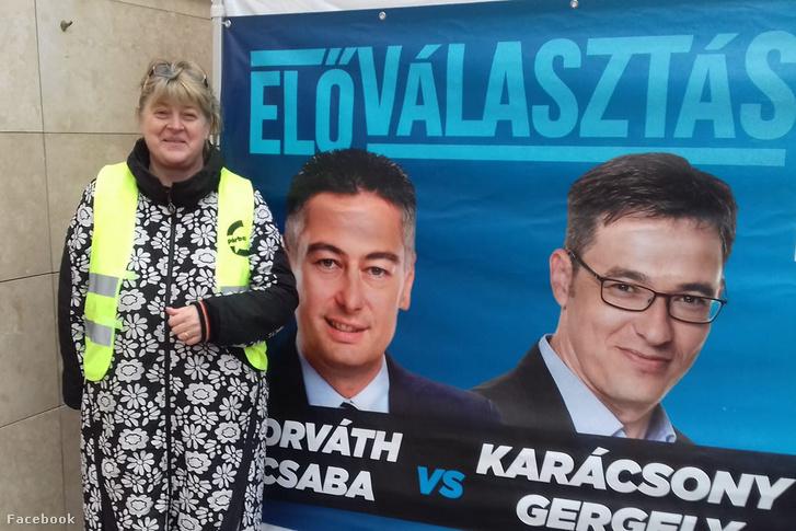 Erdősi Éva eddig a Párbeszéd mellett végzett aktivista feladatokat, most hirtelen polgármesterjelölt lett