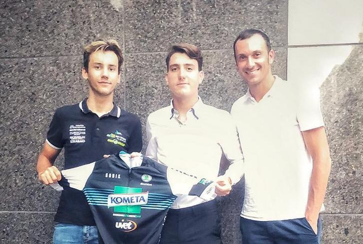 Vas Balázs, Karl Ádám a friss igazolások és Ivan Basso, a Kométa Cycling Team sportmenedzsere